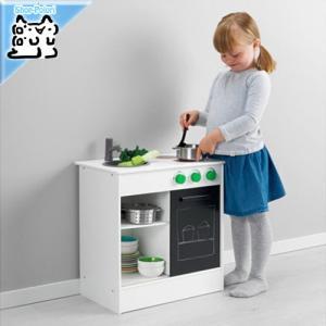 【IKEA Original】NYBAKAD ニバカード おままごとキッチン 引き戸付き ホワイト ...
