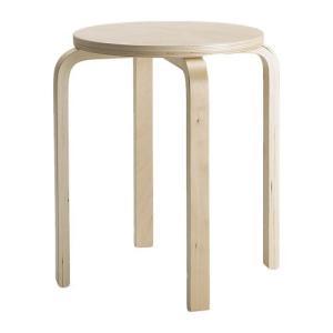 IKEA Original FROSTA スツール チェア バーチ材合板 polori