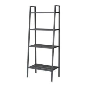 IKEA Original LERBERG 書棚 本棚 シェルフユニット ダークグレー 60x148 polori