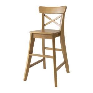 IKEA Original INGOLF 子供用チェア アンティークステイン|polori