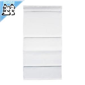 IKEA Original RINGBLOMMA ローマンブラインド ホワイト 80×160 cm|polori