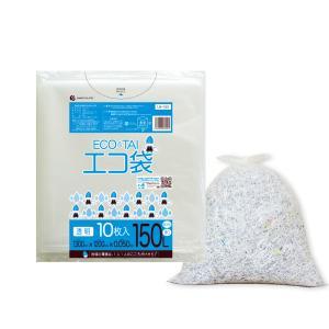ごみ袋 150L0.05mm厚 透明 10枚バラ 1冊550円 LN-153bara |poly-stadium
