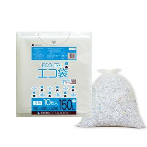 ごみ袋 150L0.03mm厚 透明 10枚バラ 1冊370円 LN-155bara |poly-stadium