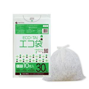 ごみ袋 30L0.025mm厚 透明 10枚バラ 1冊65円 LN-34bara |poly-stadium