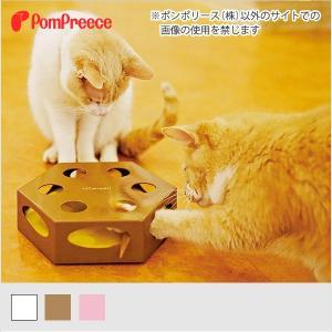 [ネコpom]おもちゃ 電動CAT TOY メリーゴーランド ポンポリース 4928
