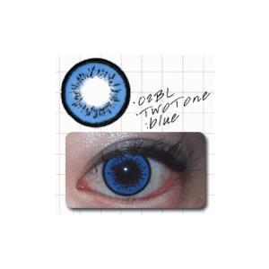 ツートン/ブルー/2枚入り/UVカット1ケ月カラコン10%OFF/ドクター・タカハシ/瞳くっきり/カラーコンタクトメール便可/DRカラコン/|pompadour