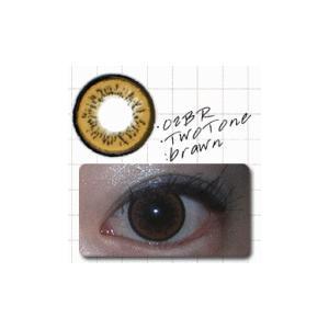 ツートン/ブラウン/2枚入り/UVカット1ケ月カラコン10%OFF/ドクター・タカハシ/瞳くっきり/カラーコンタクト/メール便可/DRカラコン|pompadour