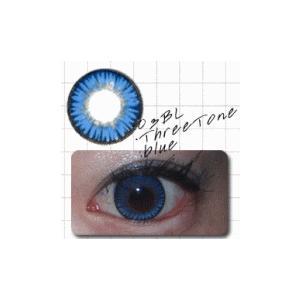 スリートン/ブルー/2枚入り/Vカット1ケ月カラコン10%OFF/ドクター・タカハシ/瞳くっきり/カラーコンタクト/メール便可/DRカラコン|pompadour