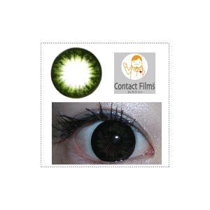 カラーサークル/グリーン/ディープカラー/2枚入り/UVカット1ケ月カラコン10%OFF/ドクター・タカハシカラーコンタクト/メール便可|pompadour