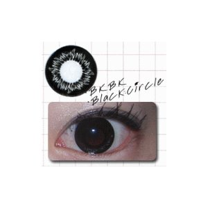 ブラックサークル/2枚入り/UVカット1ケ月カラコン10%OFF/ドクター・タカハシ瞳くっきりカラーコンタクトブラック/メール便可|pompadour