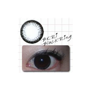 ブラックリング/2枚入り/UVカット1ケ月カラコン10%OFF/ドクタータカハシ瞳くっきり/カラーコンタクト/メール便可|pompadour