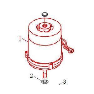 カワエースN3部品 (1) モータ N−130/150S カワエースN3-135.136用|pompu