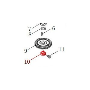 カワエースN3部品 (10) ストッパーリング 10(セット) カワエースN3-135.136用|pompu