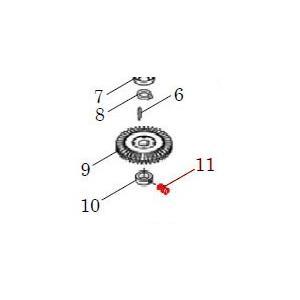 カワエースN3部品 (11) くぼみ先止めねじ M4X4 カワエースN3-135.136用|pompu