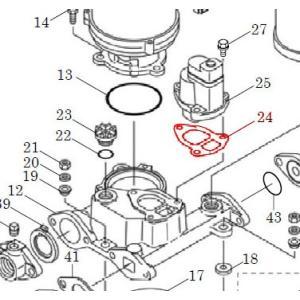 カワエースN3部品 (24) パッキン カワエースN3-135.136用|pompu