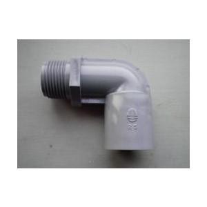川本ポンプ オスメスエルボ25×1|pompu