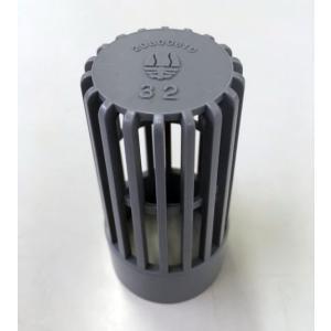 川本製作所 塩ビストレーナー 32A 差込式|pompu
