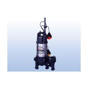 寺田ポンプ 清水〜汚物を含む水 PXA750 自動運転 pompu