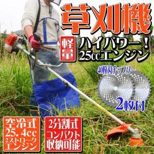 軽くてパワー2ストロークエンジンは、伸びてしまった草や固くなった枯れ草などをガンガン刈ってくれます。...
