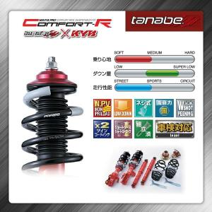 車高調 足回り サスペンション 日産 セレナ C25 CC25 05/5〜10/11 タナベ サステックプロ コンフォートR CRC25K|pond