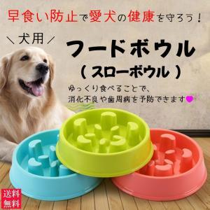 フードボウル スローボウル 犬 専用 大型犬 早食い防止 肥満予防 ダイエット 健康管理 ペット用品