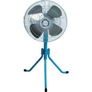 AFG-18P スタンド型 工場扇 アルミ羽根/首振り機能/エアフィルター ルブリケーター付 送風機 エア式 扇風機 工場扇風機 AFG18|ponpu