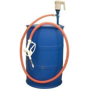 Ad-1LATNP25Ad リチウム充電式 樹脂ドラム用ポンプ アドスター アドブルー用 AdBlue ホース2m B-TYPE オートストップガン付|ponpu