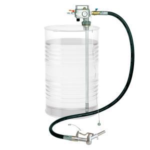 APD-25GN 2M 大容量 吐出専用 ドラム缶用 エアプレッシャーポンプ 灯油 軽油 ガソリン用 手動ガン ホース2m付 APD25GN ponpu