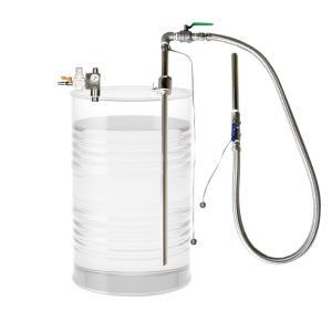 APDS-32SUS 大容量 吐出専用 ドラム缶用 セパレート型 エアプレッシャーポンプ ステンレス製 溶剤用 APDS32SUS|ponpu