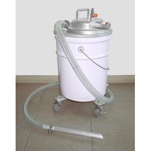 APPQO400-FPC 粉塵吸込セット 3馬力 エア式 バキュームクリーナー 掃除機 自動停止機能/フィルター付き 吸入専用 オープンペール缶用|ponpu