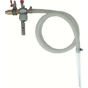 APPQAS エアバキュームポンプ/クローズペール缶用/液体回収専用/ 溶剤用|ponpu