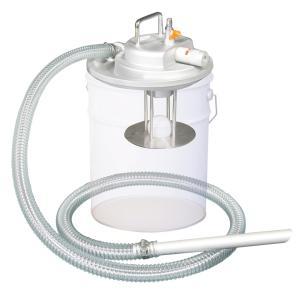 APPQO400 3馬力 乾湿両用 掃除機 エア式 バキュームクリーナー 自動停止機能付/フィルター無し 吸入専用 一般油|ponpu