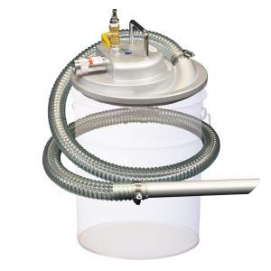 APPQO550S 5馬力 エア式 バキュームクリーナー 掃除機 シンプル構造 自動停止ストッパー無し/フィルター無し 吸入専用|ponpu