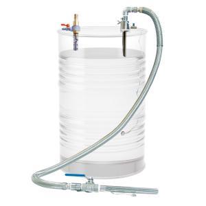 APDQS-32SUS 吸入専用 ドラム缶用 セパレート型 エアバキュームポンプ ステンレス製 溶剤用 APDQS32SUS|ponpu