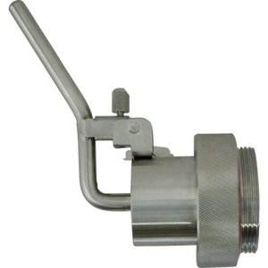 DMN-30 高粘度用 ドラムコック 缶口径 G2インチ用 ステンレス製 溶剤/薬品/ギヤオイル/オイル DMN30|ponpu