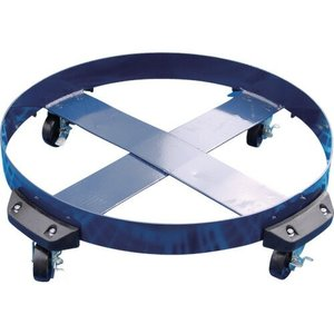 DC-NBR-P ドラム缶キャリー 200Lドラム用 台車 ドラム缶キャリー ゴム製タイヤ DCNBRP|ponpu