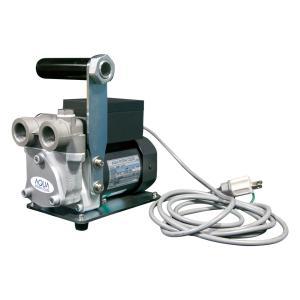 EMH-20SUS 電動モーターポンプ ステンレス製 配管接続 ハンディ リリーフ弁付 灯油/軽油 B2用 100V EMH20SUS|ponpu