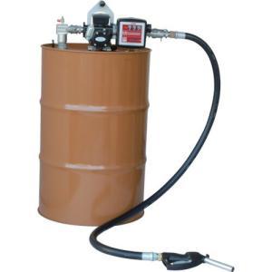K33EVPD-56 ドラムポンプ 簡易機械式流量計付 ドラム缶用 灯油/軽油専用 K33EVPD56|ponpu