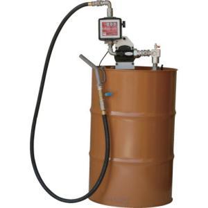 K33EVD-100 ドラムポンプ 簡易機械式流量計付 ドラム缶用 オイル用 エンジンオイル K33EVD100|ponpu