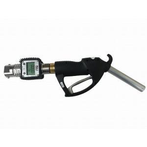 GN-AL3025K24FA 計量手動ガンノズル 軽油/灯油専用 FA100 FD12 FD24 CP51Z専用継手付 大容量タイプ 流量計付 GNAL3025K24FA|ponpu