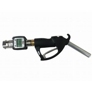 GN-AL3025K24FR 大容量型 計量手動ガンノズル 軽油/灯油専用 FR200専用継手付 大容量タイプ 流量計付 GNAL3025K24FR|ponpu