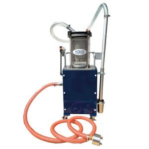 J-FF エア式循環ろ過クリーナー 不織布フィルタータイプ 研磨専用 工作機械や切削液タンクの清掃に ステンレスフィルター JFF ponpu