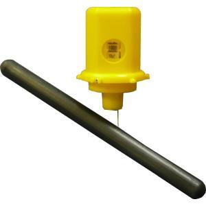 E-C 残量計ドラム缶用 簡易 液面計 液面チェッカー ドラム缶の残量表示 ponpu
