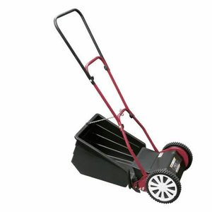 GFF-2500N ナイスファインモアー 刃調整不要 手動式芝刈り機 後ろキャッチャー式 芝刈り 芝刈機 GFF2500N|ponpu