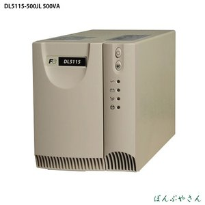 DL5115-500JL 富士電機 UPS 500VA 本体8Kg 100V 単相2線 コンパクト形 回転数 制御 装置 DL5115500JL|ponpu