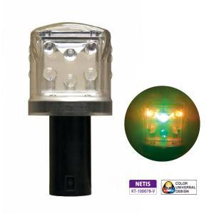LED工事灯 ソーラーキングミニ DSK-40 ソーラー 電池 NETIS登録製品 カラーコーン|ponta-ponta
