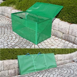 在庫限り! カンエツ折り畳み式ゴミボックスK-120 Lite(ライト)  カンエツ ゴミステーション 簡易ゴミ収集所 自治会 カラス対策 送料無料(沖縄/離島を除く)|ponta-ponta|02