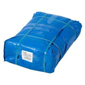 Uブルーシート #3000タイプ 3.6×5.4m 10枚セット 厚手 青 防水 養生 イベント 建築 土木 野積み ハトメ付 在庫あります|ponta-ponta