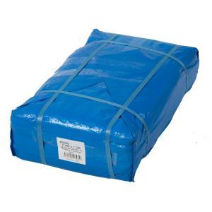 Uブルーシート #3000タイプ 5.4×7.2m 5枚セット 厚手 青 防水 養生 イベント 建築 土木 野積み ハトメ付 在庫あります|ponta-ponta