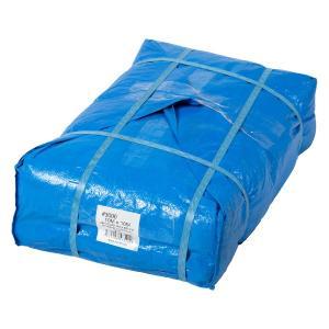 Uブルーシート #3000タイプ 10×10m 2枚セット 厚手 青 防水 養生 イベント 建築 土木 野積み ハトメ付 在庫あります|ponta-ponta